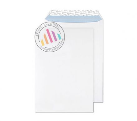 B4 - Ultra White Wove Envelopes - 120gsm - Non Window - Peel and Seal