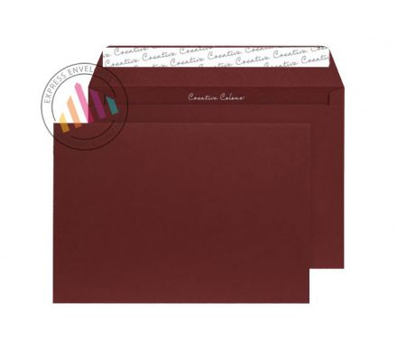 C4 - Bordeaux Envelopes - 120gsm - Non Window - Peel and Seal