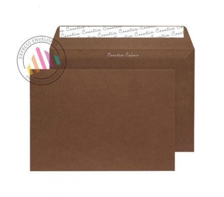 C4 - Milk Chocolate Envelopes - 120gsm - Peel and Seal