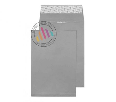 C4 - Storm Grey Envelopes - 120gsm - Non Window - Peel and Seal