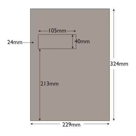 C4 - Storm Grey Envelopes - 120gsm - Window - Peel and Seal - image 2