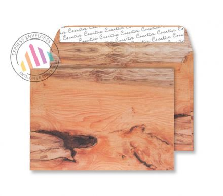 C5 - Planed Yew Tree Envelopes - 135gsm - Non Window - Peel and Seal