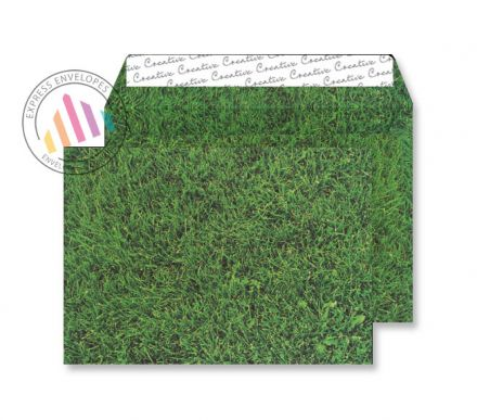 C5 - Fresh Mown Grass Envelopes - 135gsm - Non Window - Peel and Seal