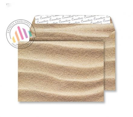 C5 - Sahara Sand Envelopes - 135gsm - Non Window - Peel and Seal