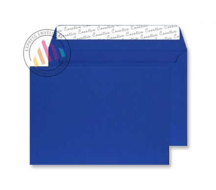 C5 - Velvet Blue Envelopes - 140gsm - Non Window - Peel and Seal