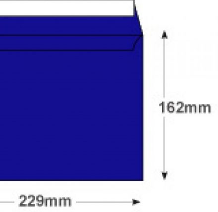 C5 - Velvet Blue Envelopes - 140gsm - Non Window - Peel and Seal - image 2