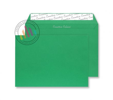 C5 - Avocado Green Envelopes - 120gsm - Non Window - Peel and Seal