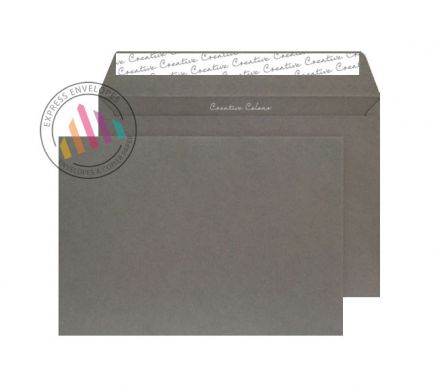 C5 - Graphite Grey Envelopes - 120gsm - Non Window - Peel and Seal