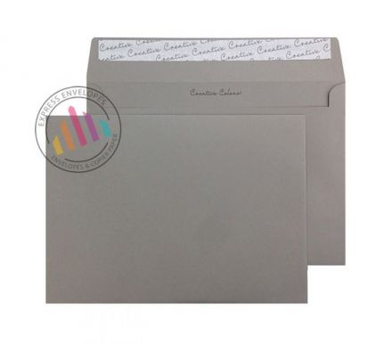 C5 - Storm Grey Envelopes -120gsm - Non Window - Peel and Seal