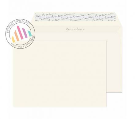 C5 - Milk White Envelopes - 120gsm - Non Window - Peel and Seal