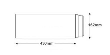 430 x 162mm - White Commercial Envelopes - 120gsm - Non Window - Peel & Seal - image 2