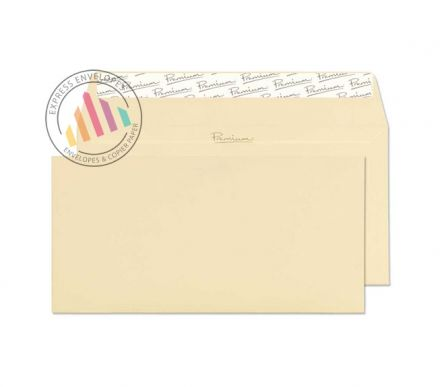 DL - Vellum Wove Envelopes - 120gsm - Non Window - Peel and Seal