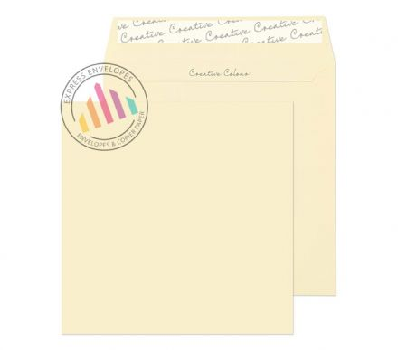 155×155mm - Clotted Cream Envelopes - 120gsm - Peel and Seal
