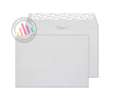 C5 - Diamond White Laid Envelopes - 120gsm - Non Window - Peel and Seal