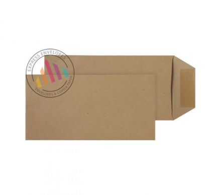 229×102mm - Manilla Commercial Envelopes - 80gsm - Gummed