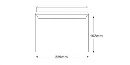 C5 - White Commercial Envelopes - 100gsm -  Non Window - Peel & Seal - image 2