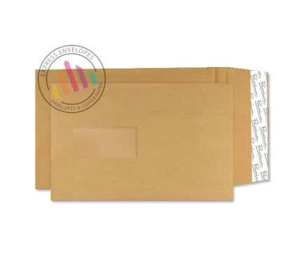 C5 - Cream Manilla Envelopes - 130gsm - Window - Peel and Seal