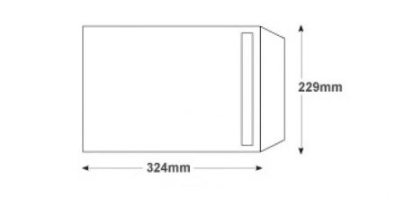 C4 - White Commercial Envelopes - 100gsm - Non Window - Peel & Seal - image 2