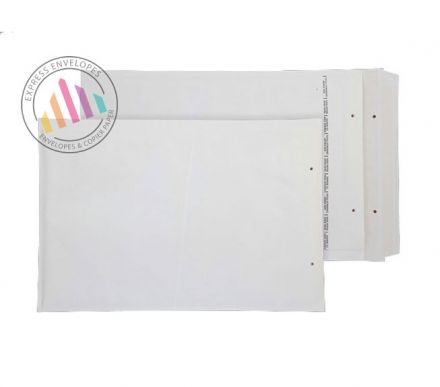C5+ - White Padded Bubble Envelopes - Peel and Seal