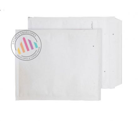 360×270mm - White Padded Bubble Envelopes - Peel and Seal