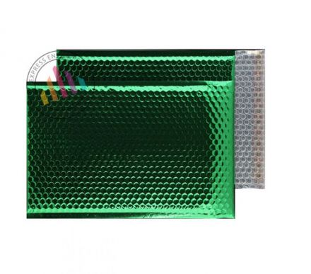 C3 - Emerald Green Padded Bubble Envelopes - Peel and Seal