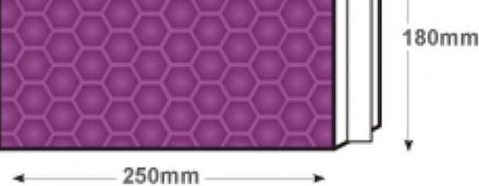 250×180mm - Purple Grape Padded Bubble Envelopes- Peel and Seal  - image 2