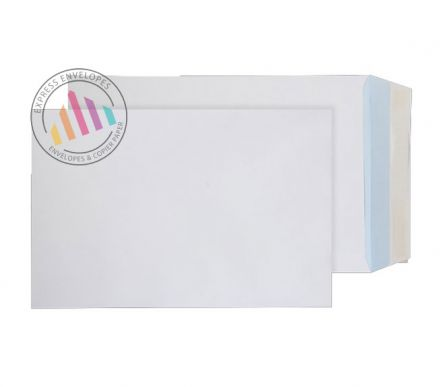 352 x 229mm -  White Commercial Envelopes - 120gsm - Non Window - Peel & Seal