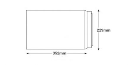 352 x 229mm -  White Commercial Envelopes - 120gsm - Non Window - Peel & Seal - image 2