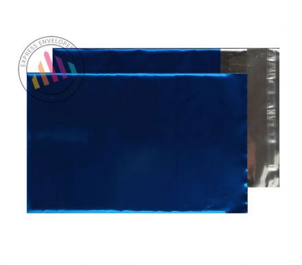 C5 - Metallic Blue Foil Envelopes - 70gsm - Non Window - Peel and Seal