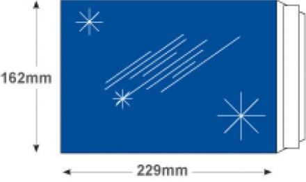 C5 - Metallic Blue Foil Envelopes - 70gsm - Non Window - Peel and Seal - image 2