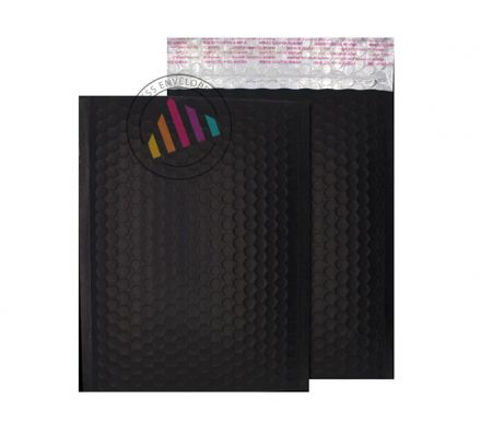 C4 - Charcoal Black Padded Bubble Envelopes - Non Window - Peel and Seal