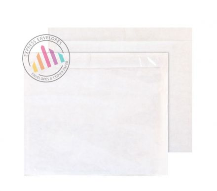 C4 - Clear Polythene Envelopes - Window - Peel and Seal