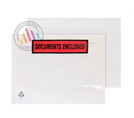 C4 - Clear Polythene Envelopes - Non Window - Peel and Seal