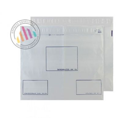 C3+ White Polythene Envelopes - Peel and Seal