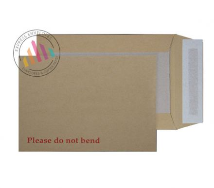 B4 - Manilla Board Back Envelopes - 120gsm - Non Window - Peel and Seal