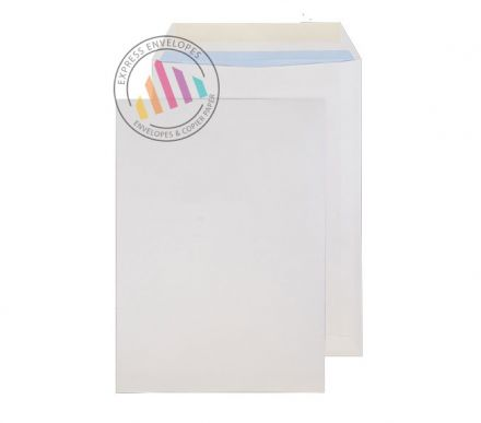 B4 - White Commercial  Envelopes - 100gsm - Non Window - Gummed