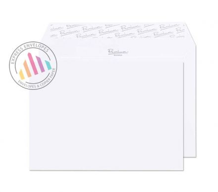 C5 - Brilliant White Wove Envelopes - 120gsm - Non Window - Peel and Seal