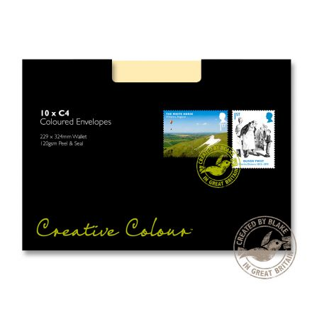 C4 - Clotted Cream Envelopes  - 120gsm - Non Window - Peel and Seal - image 2