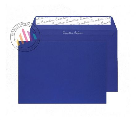 C4 - Victory Blue Envelopes - 120sgm - Non Window - Peel and Seal