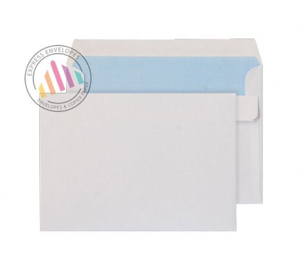 C6 -  White Commercial Envelopes - 90gsm - Non Window - Self Seal