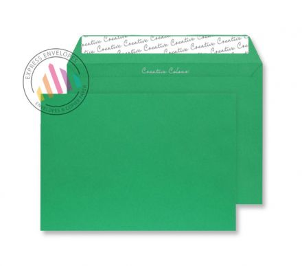 C4 - Avocado Green Envelopes- 120gsm - Non Window - Peel and Seal