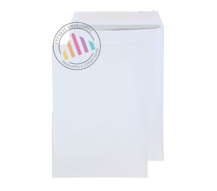 B4 - Bright White Commercial Envelopes - 120gsm - Non Window - Peel and Seal