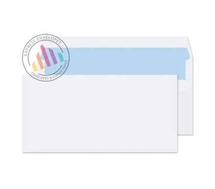 DL - White Commercial Envelopes - 90gsm - Non Window - Self Seal