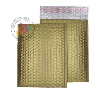 C5+ - Gold Dust Padded Bubble Envelopes - Peel and Seal