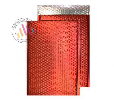 250×180mm - Chilli Haze Padded Bubble Envelopes - Peel and Seal