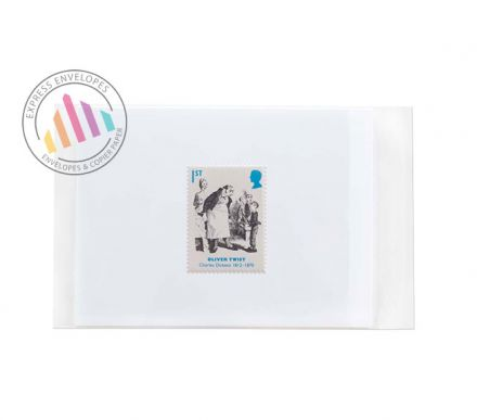 165×230mm - Clear Cello Bags - 30µm - Non Window - Resealable