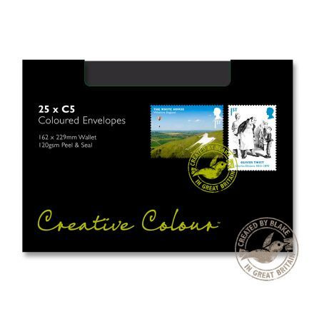 C5 - Jet Black Envelopes - 120gsm - Non Window - Peel & Seal - image 2