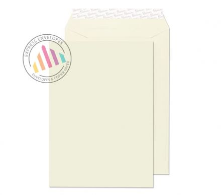 C4 - Oyster Wove Envelopes - 120gsm - Non Window - Peel and Seal