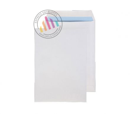 270 x 216 - White Commercial  Envelopes - 100gsm - Non Window - Self Seal