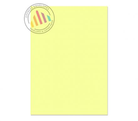 A4 - Creative Colour Lemon Yellow Paper - 120gsm